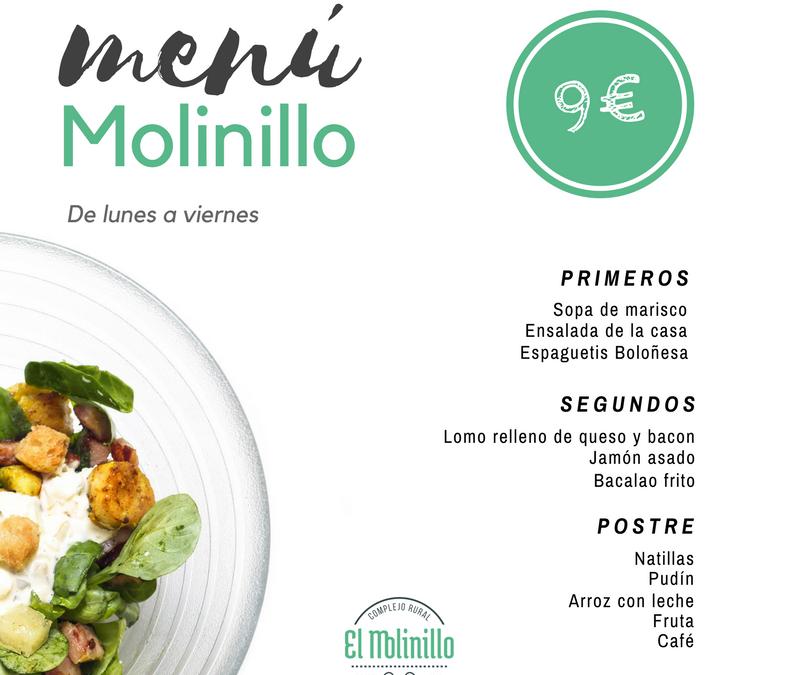 Menú Molinillo